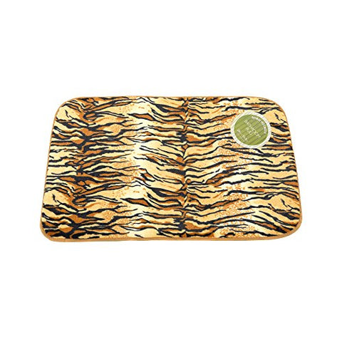 Park Avenue Deluxe Collection Park Avenue Deluxe Collection  inch Tiger inch  Faux Fur Bath Mat