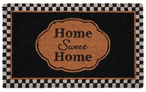Ben&Jonah Collection Printed Coir Door Mat 18x30 - Sweet Home