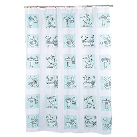 Park Avenue Deluxe Collection Park Avenue Deluxe Collection  inch Bath Time inch  Fabric Shower Curtain