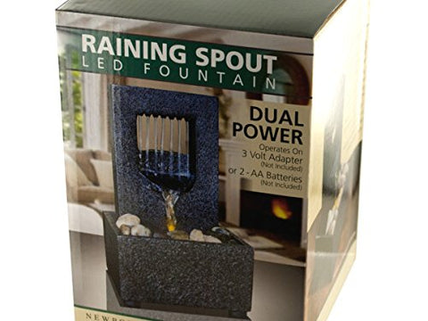 Regalo Perfecto Collection Raining Spout LED Fountain