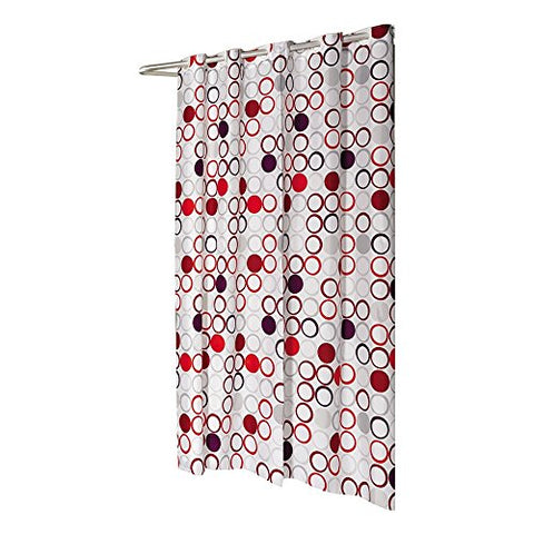 Park Avenue Deluxe Collection Shower Stall-Sized EZ-ON?  inch Bohemia inch  Polyester Shower Curtain