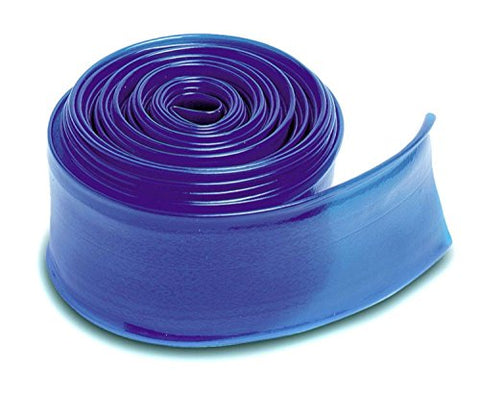 By PoolCentral Transparent Blue Swimming Pool Filter Backwash Hose - 200' x 1.5 inch