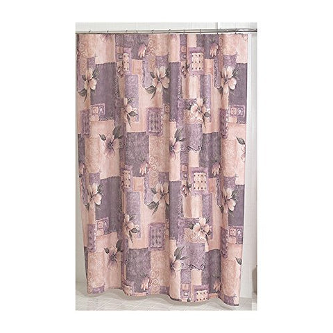 Park Avenue Deluxe Collection Park Avenue Deluxe Collection  inch Magnolia inch  Fabric Shower Curtain