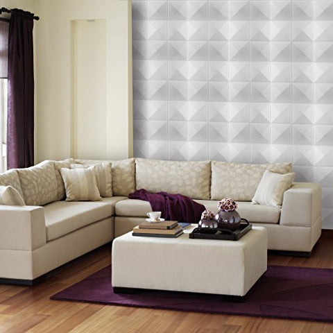 Ben&Jonah Collection Donny Osmond Stars 19.6x19.6 Self Adhesive Wall Tile - 10 Tiles/26.70 sq Ft.