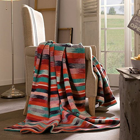 Ben and Jonah Aztec Pattern Oversized Throw Blanket