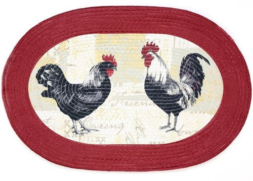 Park Avenue Collection Braided Rug 20 x 30 - Rooster