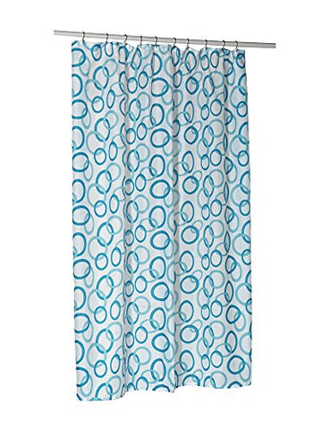 Park Avenue Deluxe Collection  inch Circles inch  Shower Stall-Sized Polyester Shower Curtain Liner