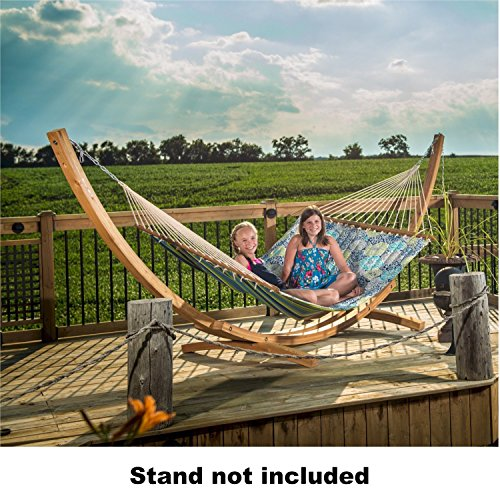 Eclipse Collection Quilted Fabric Hammock - Double (Pacifica)
