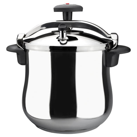 ReadyFast Star Belly Stainless Steel Fast Pressure Cooker (10-qt)