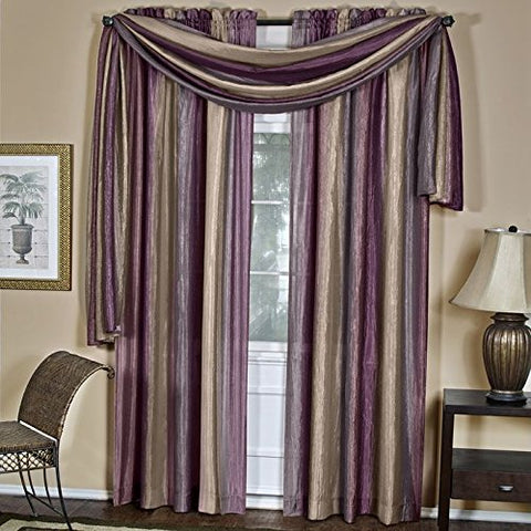 Park Avenue Collection Ombre Scarf 50x144 - Aubergine