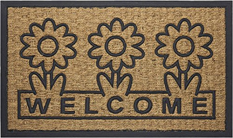 Park Avenue Collection Coco Mat Daisy - 18x30