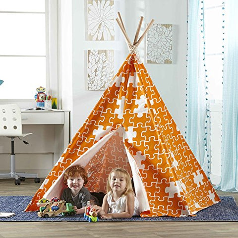 Hamptons Collection Children's Teepee orange puzzle