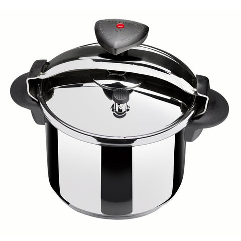 ReadyFast Stainless Steel Pressure Cooker (10-qt)
