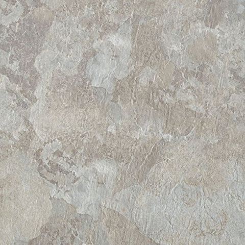 Park Avenue Collection Majestic Vinyl 18x18 2.0mm Floor Tile #1802 Light Gray Slate - 10 Tiles