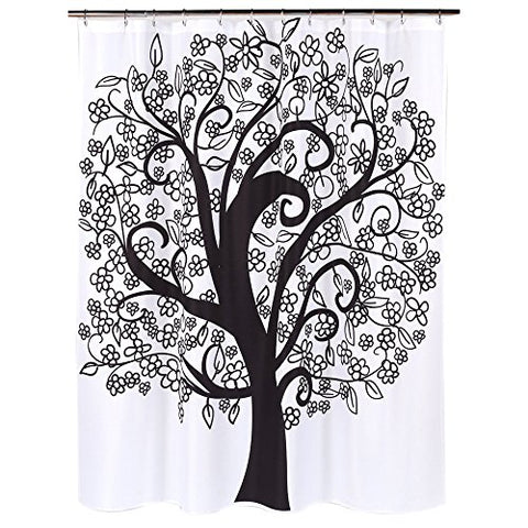 Park Avenue Deluxe Collection Park Avenue Deluxe Collection  inch Tree of Life inch  Fabric Shower Curtain