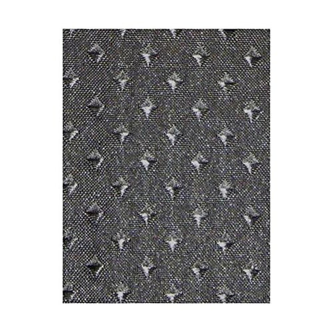 Park Avenue Deluxe Collection Park Avenue Deluxe Collection  inch Lauren inch  Dobby Fabric Shower Curtain in Black