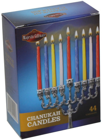 "Ben&Jonah Chanukah Candles 44 Ct. 4"" H - 50/Case"