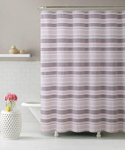 "Royal Bath Ombre Cascade Pink Fabric Shower Curtain - 72"" x 72"""