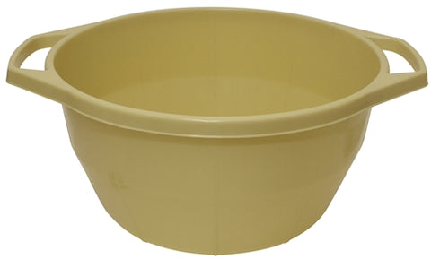 Ben and Jonah Plastic Sturdy Washing Bowl-Beige