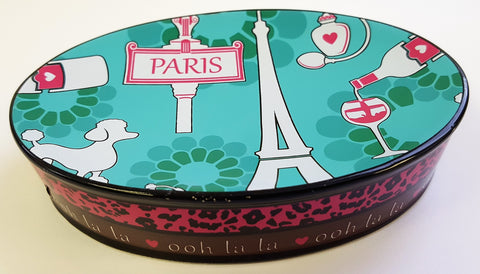 "Royal Bath Ooh La LA Paris Glamour Heavy Resin Toothbrush Holder (5.5""L x 3.75""W x 1.25""H)"
