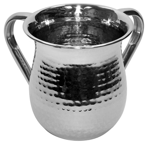 Ben and Jonah Stainless Steel Washing Cup- Hammered Steel
