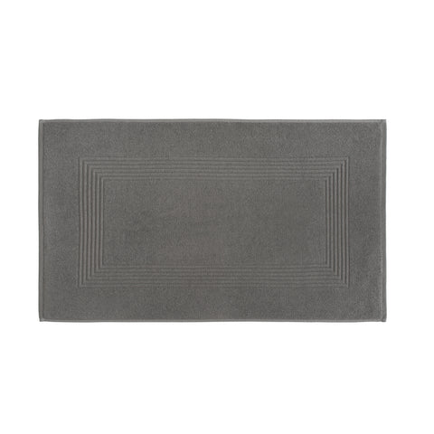"Royal Bath 600-Gram Long Twist Cotton Bath Mat (20"" x 34"") - Grey"