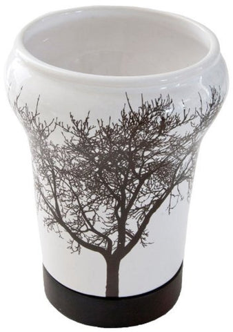 "Royal Bath Tree of Life Ceramic Tumbler ( 5""H x 3.5""Dia)"