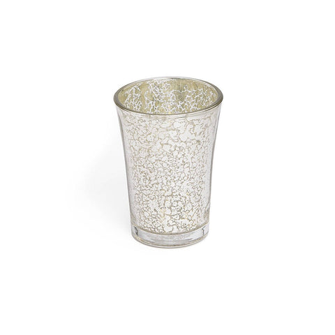 "Royal Bath Mercury Fusion Glass Tumbler (2.88""Dia. x 4.38""H)"