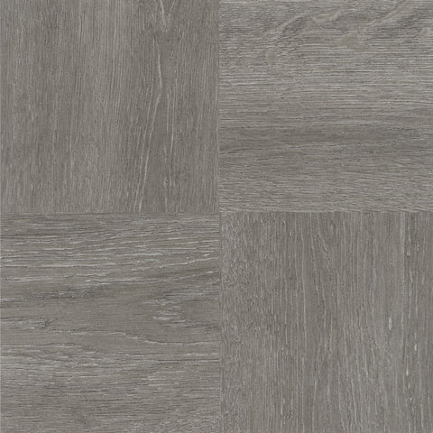 Traditional Elegance Madison Charcoal Grey Wood 12x12 Self Adhesive Vinyl Floor Tile - 20 Tiles/20 sq. ft.