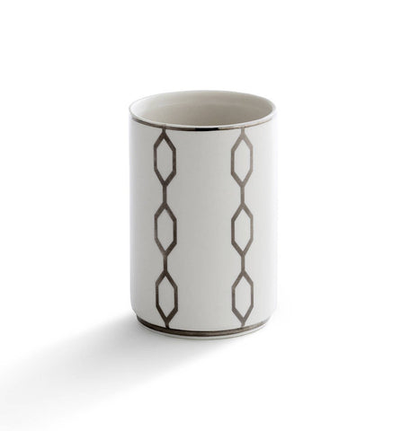 "Royal Bath Chain Reaction Porcelain Tumbler (4""H x 2.6""Dia)"