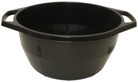 Ben and Jonah Plastic Sturdy Washing Bowl-Black