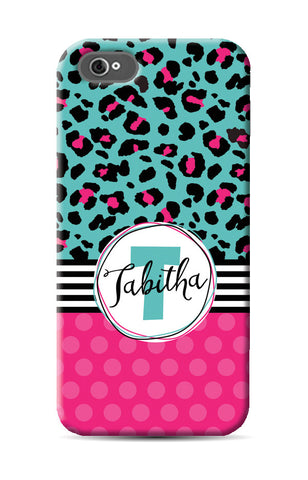 Cheetah Dot Phone Case