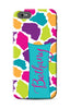 Colored Giraffe Phone Case