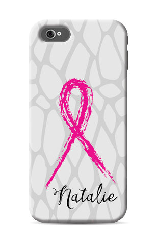 Pink Ribbon Phone Case