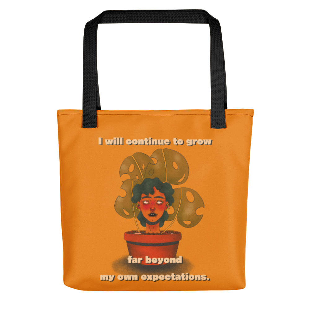 """I Will Continue to Grow"" Tote Bag"