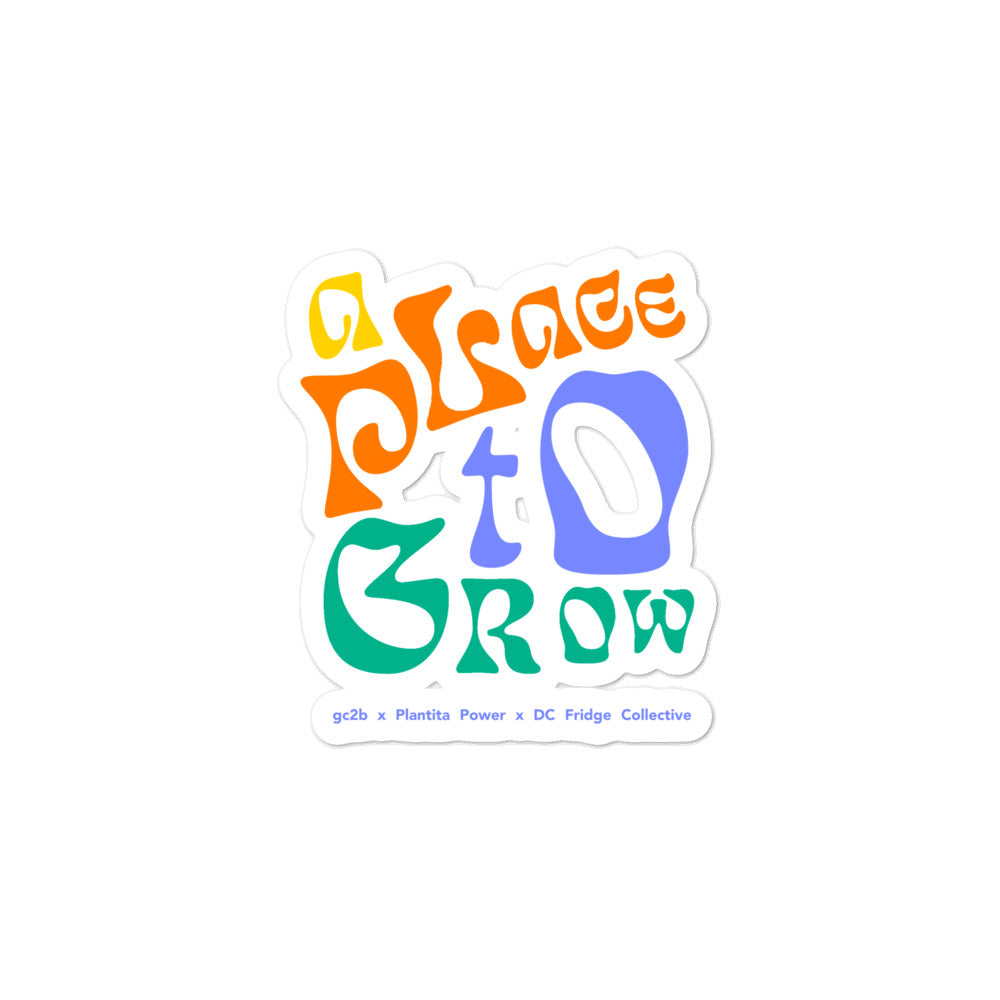 """A Place to Grow"" Full-Color Stickers"