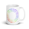 """Pride Is Where The Heart Is"" Mug"