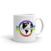 'Safe Travels' Rainbow Logo Mug