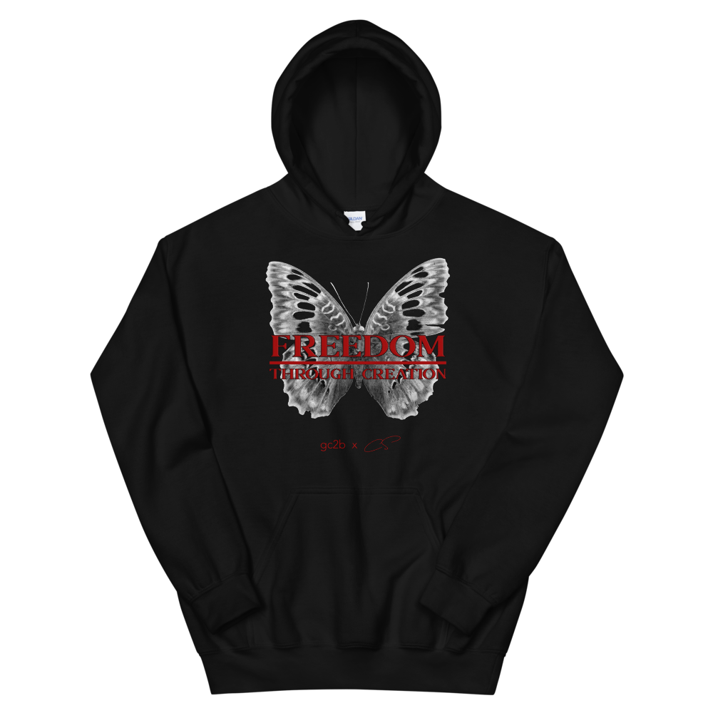 """Freedom Through Creation "" Hoodie"
