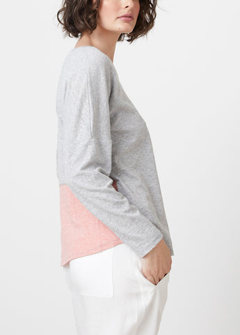 Weekend Splice L/S Tee