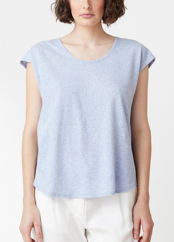 Weekend Splice V Neck Tee