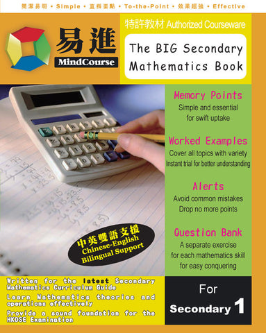 The BIG Secondary Mathematics Book 中學數學理解與運算全書