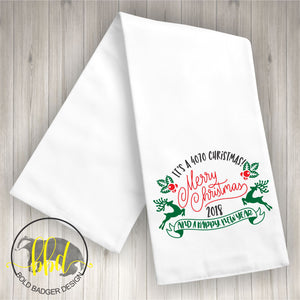 4070 Christmas Tea Towel
