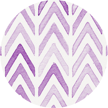 Chevron Purple Label