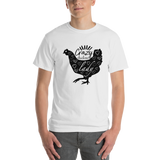 Adult - Short Sleeve TShirt - Crazy Chicken Lady
