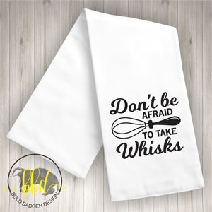 Take Whisks Tea Towel