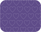 Heart Purple