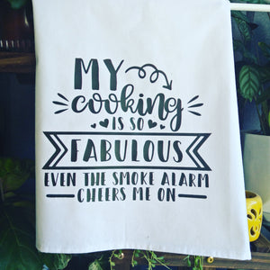 My Cooking is so Fabulous Tea Towel