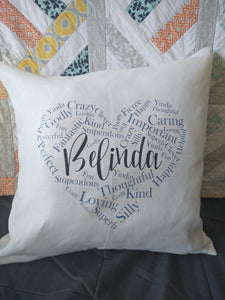 CUSTOM Linen Cushion