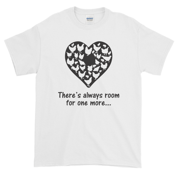 Adult - Short Sleeve TShirt - Room For One More